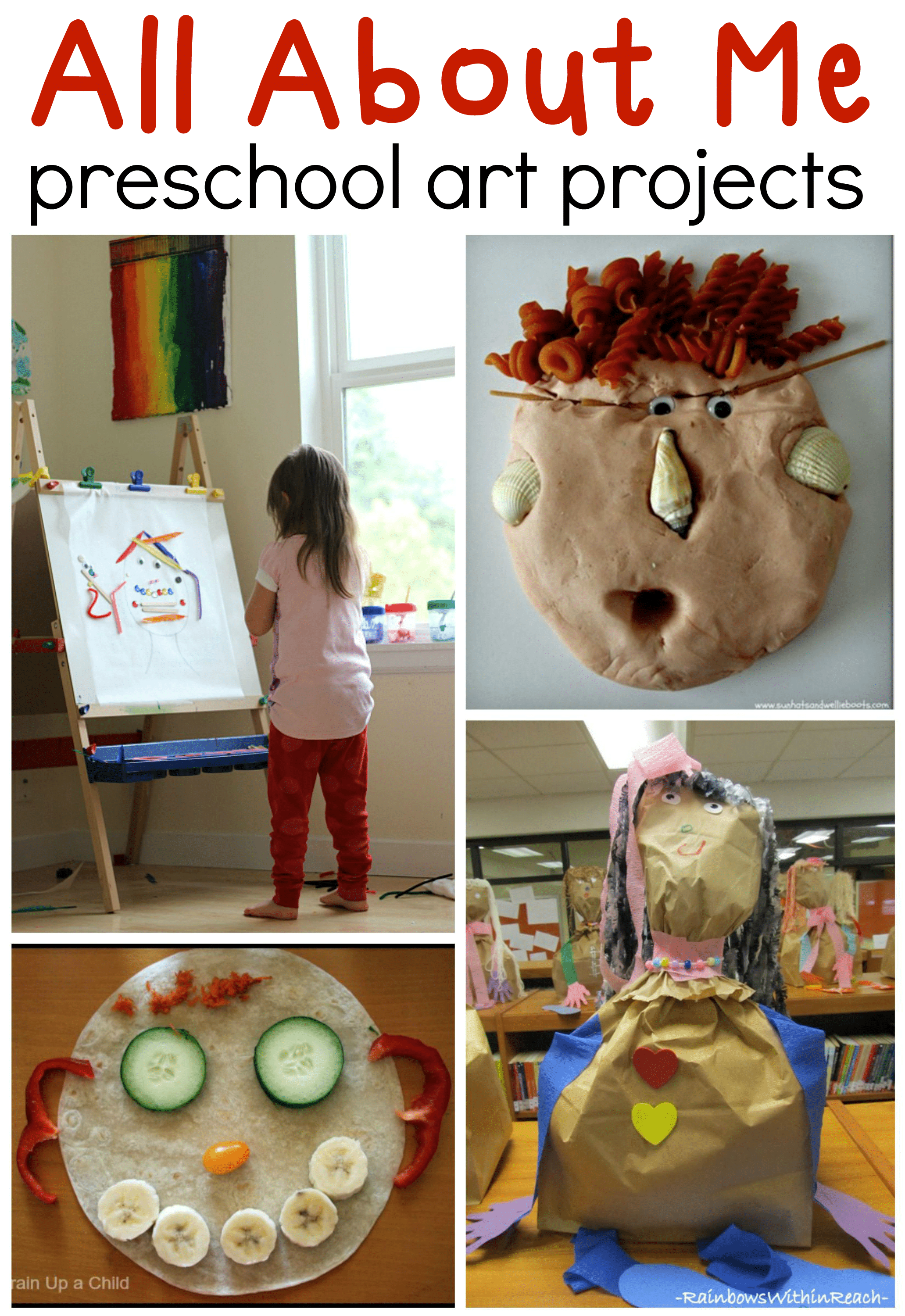 All About Me Preschool Art Ideas