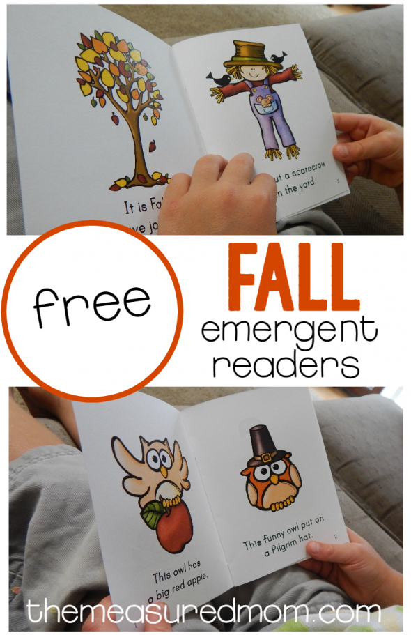 Get four free fall emergent readers in this set! Includes books about Johnny Appleseed and Christopher Columbus.