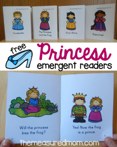 Free easy reader princess books