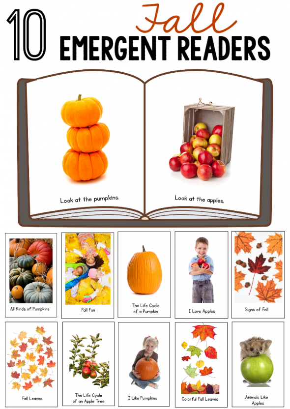 Looking for a fall theme for preschool? You'll love this GIANT resource for a pumpkin, leaf, and apple theme for preschool and kindergarten!