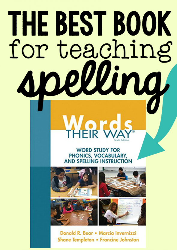 best book for teaching spelling