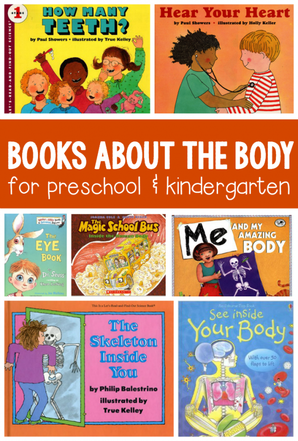 Books about the human body for kids ages 3-8 - The Measured Mom