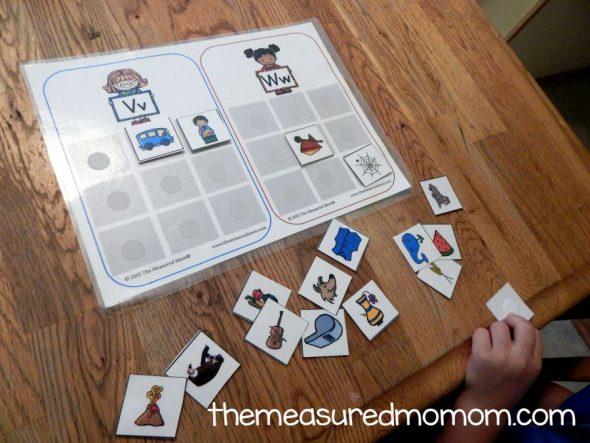 consonant sounds mats 2