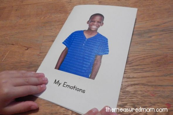 emotions emergent reader 1