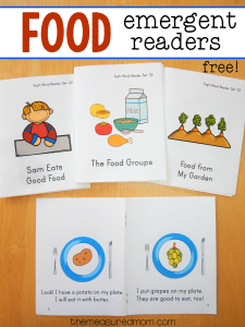Food emergent readers