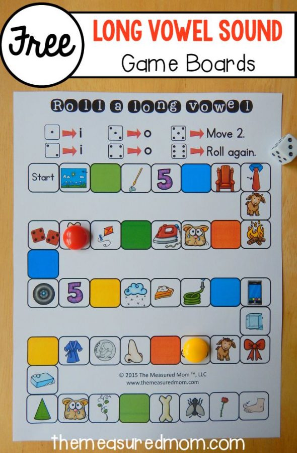 26 free games to teach long vowel sounds - The Measured Mom