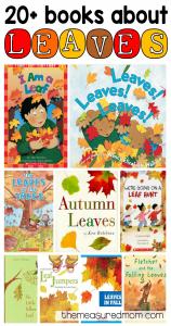 Leaf books for kids