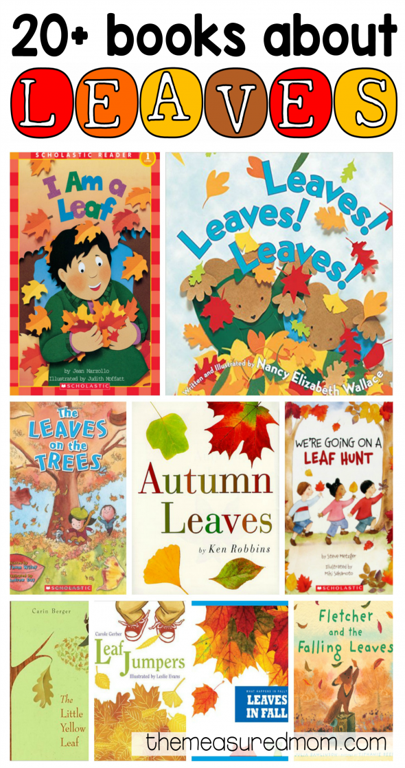 20+ books about leaves