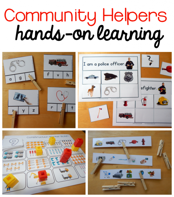 teacher, community helper unit, cartoon | helpers assessment 4 0 ...