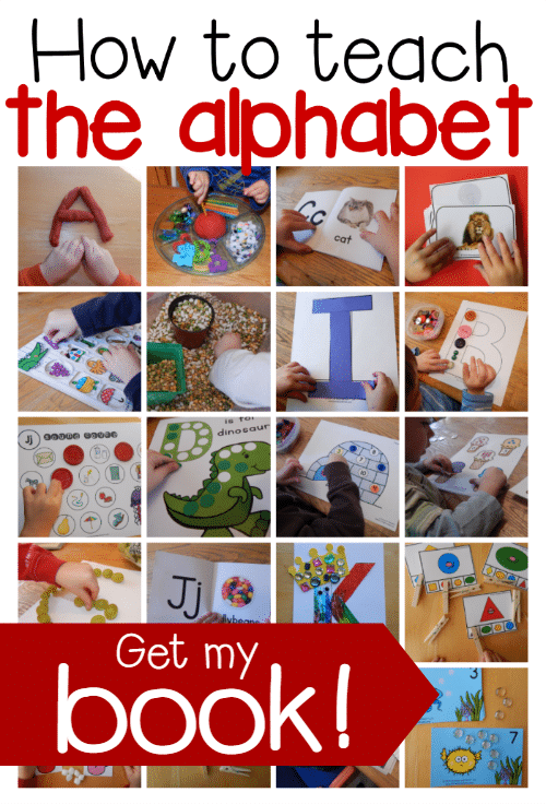 how to teach the alphabet ebook