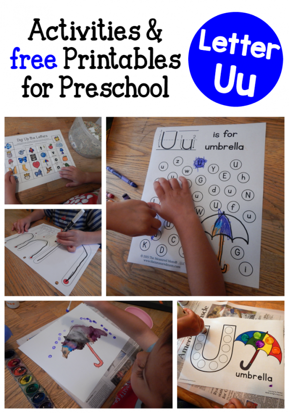Letter u activities for preschool the measured mom letter u activities for preschool ibookread PDF
