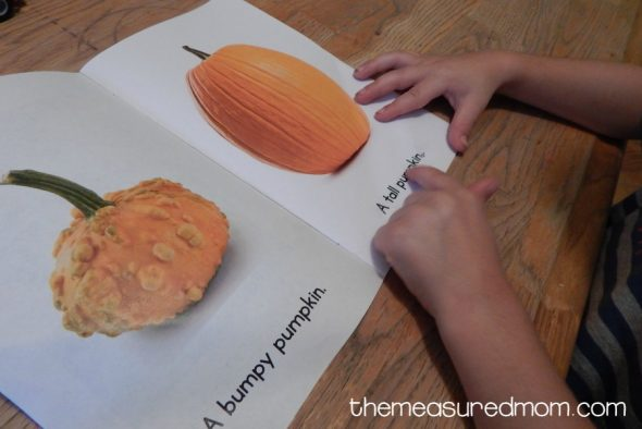 Looking for a pumpkin book your early reader can read himself? Download this one for free!