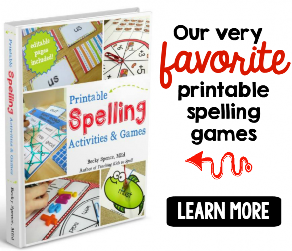 spelling games ebook 1