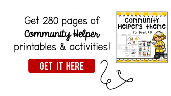 graphic relating to Community Helpers Printable Book referred to as 100+ area helper publications - The Calculated Mother