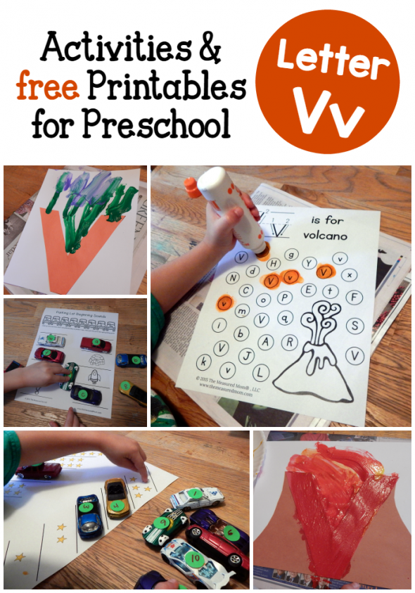 You'll love the variety in these letter V activities for preschool! Plus, get links to free printables.