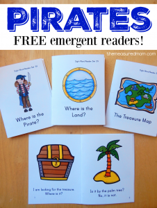 Free! Pirate books for kids