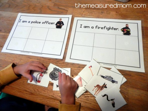 this free community helpers sorting activity is so much fun it would be great to - Community Workers