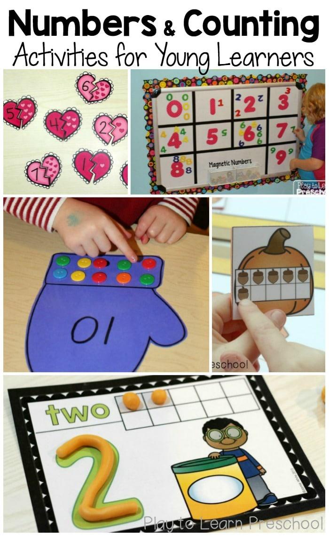 Favorite number activities for preschoolers - The Measured Mom
