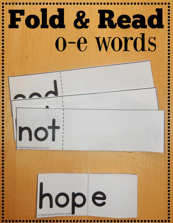 free o-e fold and read activity