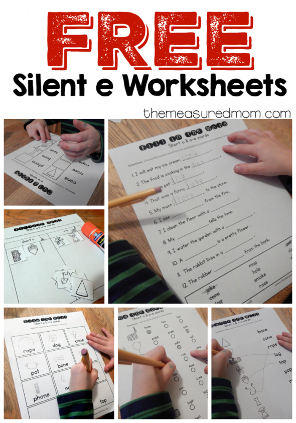10 free o-e worksheets - The Measured Mom