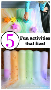 Baking soda and vinegar reactions – and other activities that fizz!