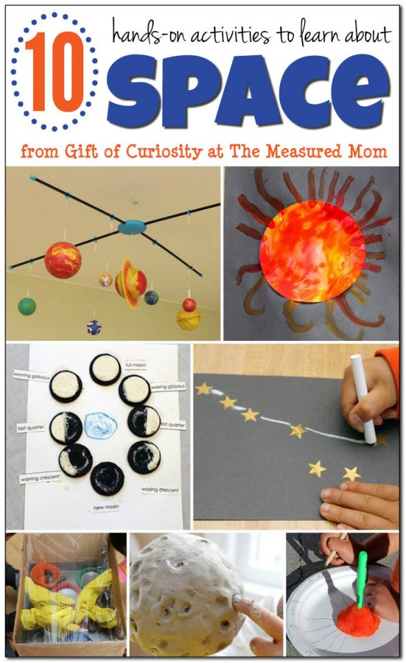10 Fun Space Activities For Kids The Measured Mom