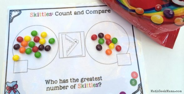 Try these preschool math activities to get your child ready for kindergarten!