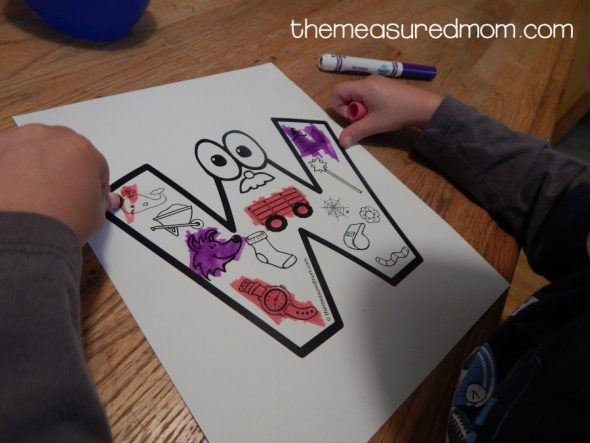 Letter W Activities for preschool   The Measured Mom