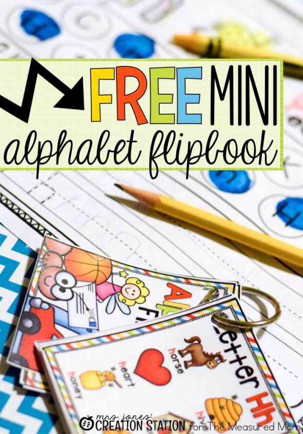 picture regarding Abc Book Printable identify No cost alphabet printable: A mini flipbook! - The Calculated Mother