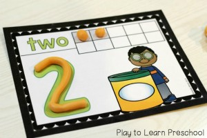 number activity 8