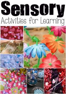 How to use sensory activities to teach new concepts