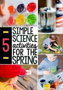 5 Spring science activities