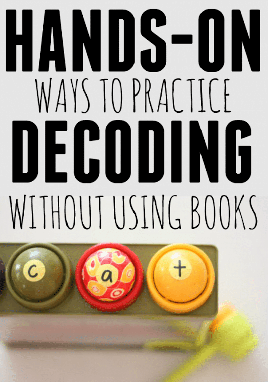 Hands on ways to practice decoding the measured mom teaching kids to read try these hands on decoding activities to take the frustration ibookread