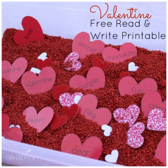 valentine read and write