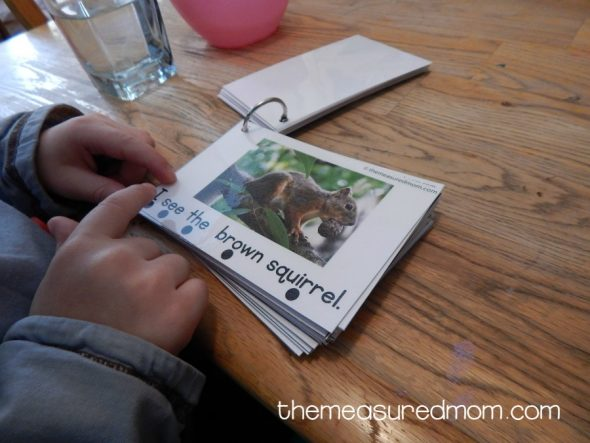 This concepts of print activity would work well with a forest animal theme.