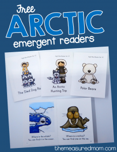 Free arctic emergent readers