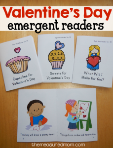 Free Valentine's Day sight word books