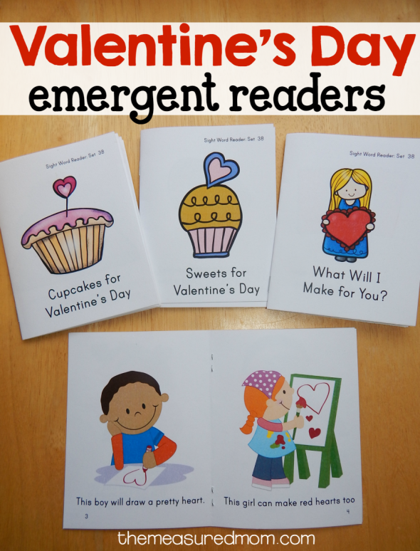 Beginning readers will love these Valentine's Day emergent readers!