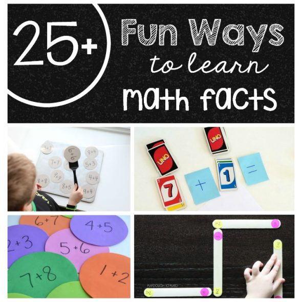 25 ways math facts!