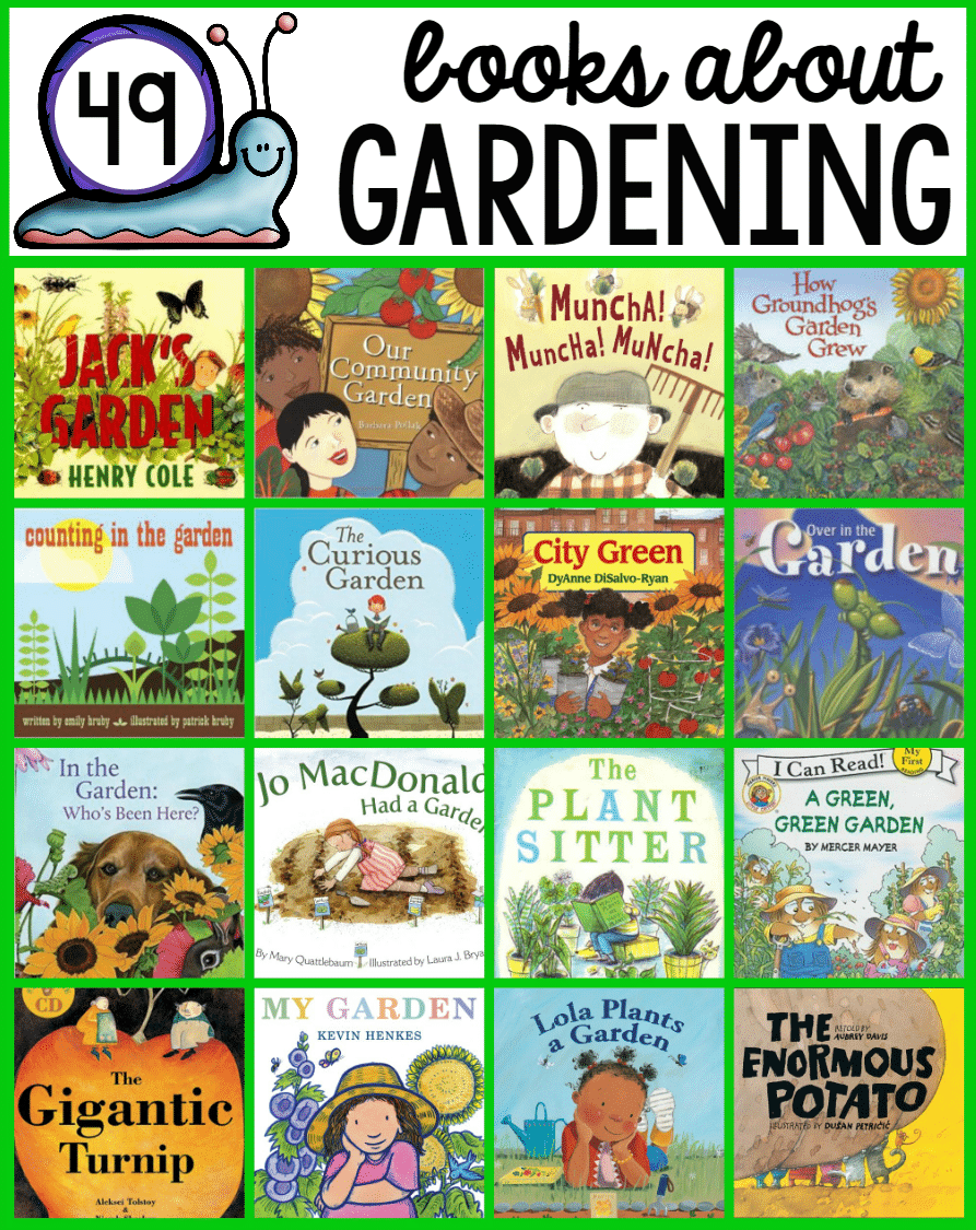 Books about gardening the measured mom for Children s books about gardening