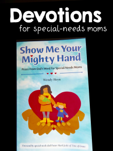 Devotions for special needs moms