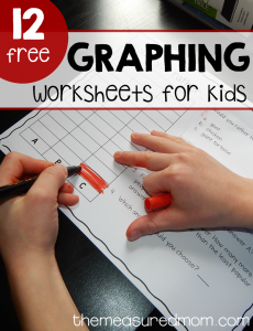 Free (fun!)  graphing worksheets for kids