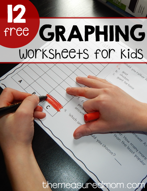 graphing worksheets for kids