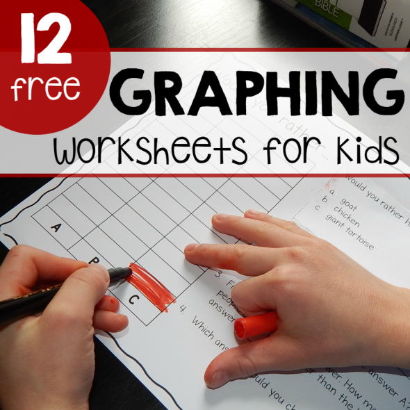 graphing worksheets for kids square image