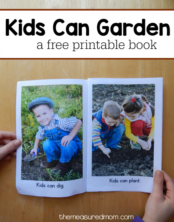 kids can garden nonfiction reader