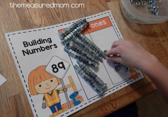 place value with nuts and bolts 3
