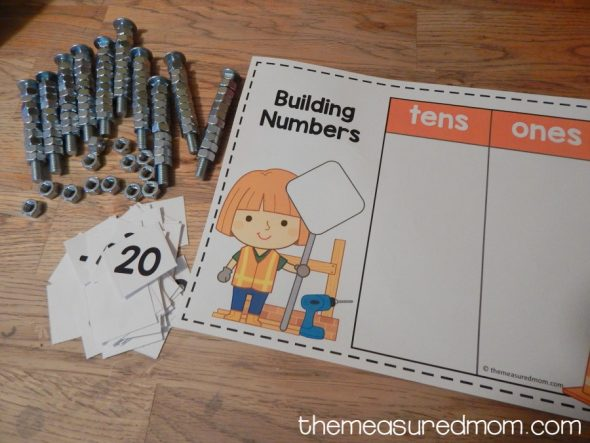 place value with nuts and bolts 4