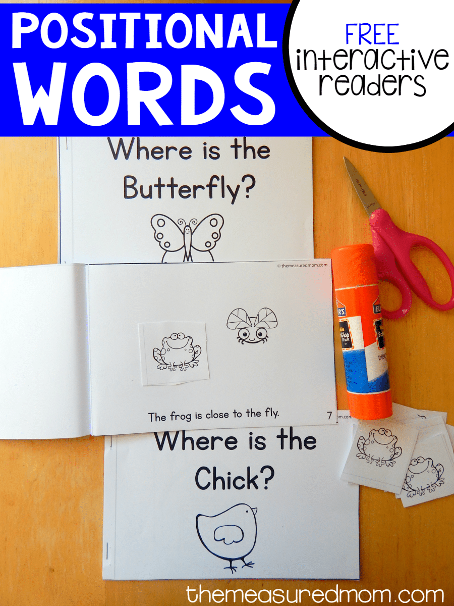 Free Positional Words Activity The Measured Mom Unit 2f Using Electricity Printable Resource Worksheets For Kids