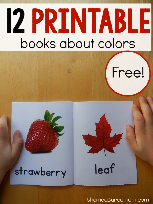 12 Free color books! - The Measured Mom
