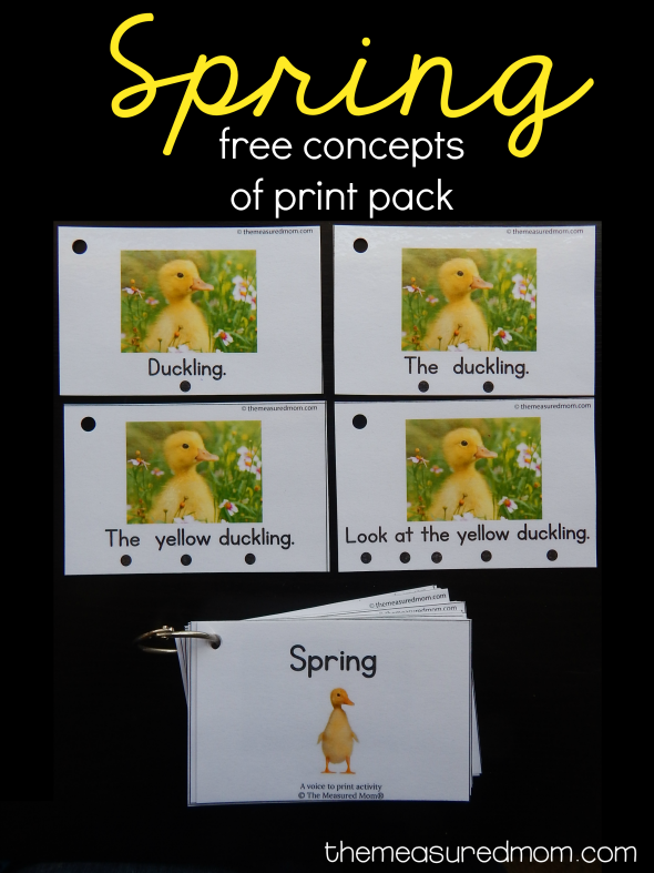 spring concepts of print pack